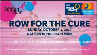 Row For The Cure Joins The 2017 World Rowing Championships